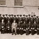 1962 APPROX SARNIA POLICE PHOTO LARGE GROUP 1 0F 2 NAMES ON 2 scan0072
